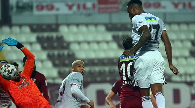 Beşiktaş'ın serisi Hatay'da son buldu
