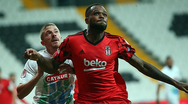 Beşiktaş tek golle çeyrek finalde