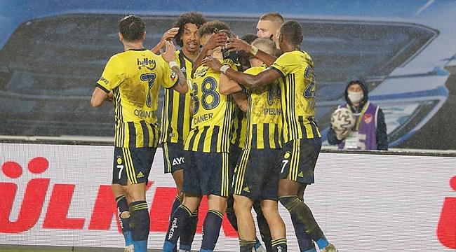 Fenerbahçe 3 puanı tek golle aldı! Zirve...