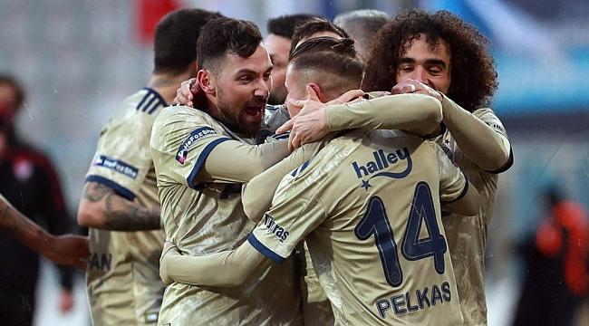 Fenerbahçe seriyi 4'e çıkardı