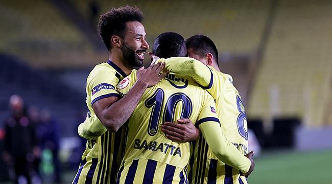 Fenerbahçe tek golle çeyrek finalde!