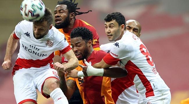 G.Saray, Antalyaspor duvarını aşamadı