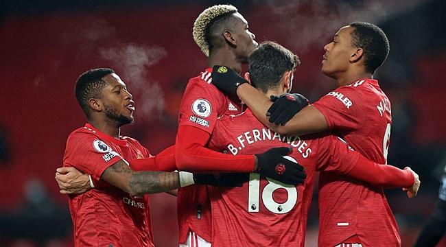 M.United seriyi sürdürdü, zirveye de ortak oldu!