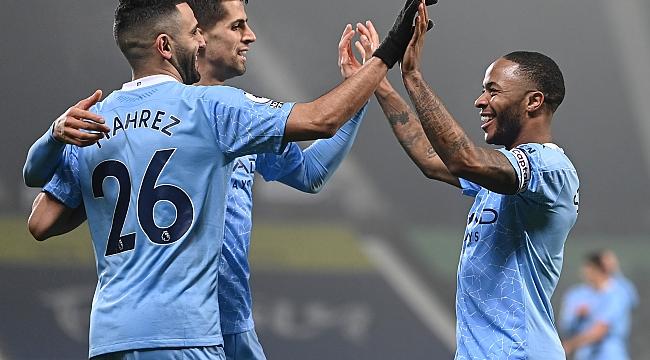 Man. City, WBA karşısında uçtu! 5 gol, 7 maç