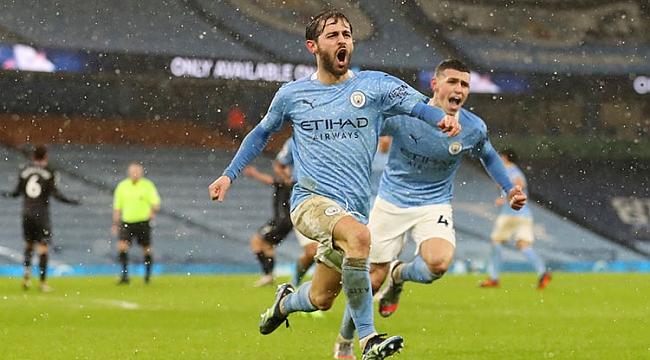 Manchester City 2 golle serisini sürdürdü