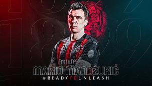 Mario Manzdukic resmen Milan'da! Zlatan ile...