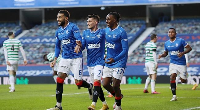 Old Firm'de kazanan Rangers!