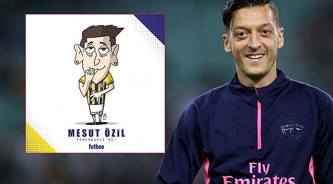 VE RESMEN AÇIKLANDI! Mesut Özil Fenerbahçe'de