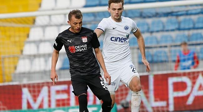 Sivasspor'un serisini Kasımpaşa sonlandırdı