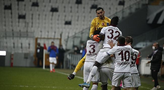 Trabzonspor'dan kritik galibiyet