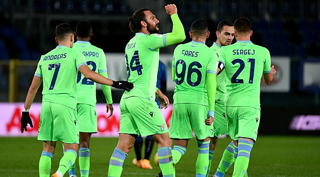 Vedat Muriqi'in siftahı Lazio'ya yetmedi! 5 gol...