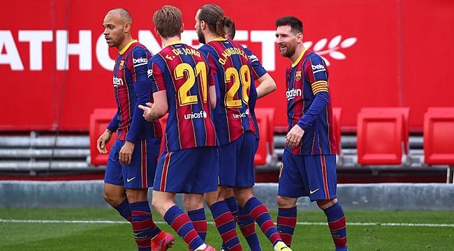 Barcelona kritik virajı Messi ve Dembele ile geçti!