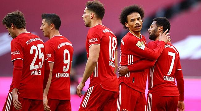 Bayern Münih, Köln'e patladı! Hasret 5 golle bitti