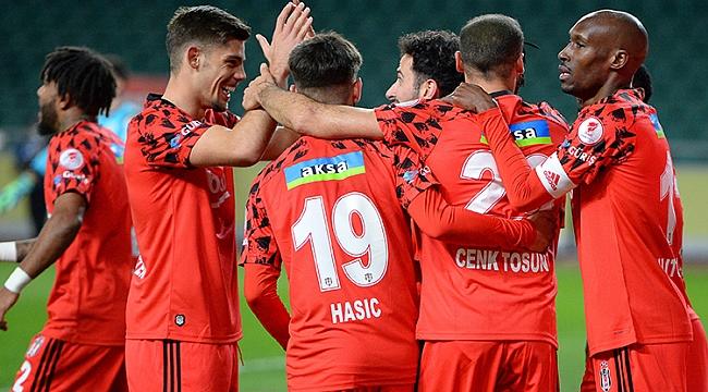 Beşiktaş kupada yarı finalde!