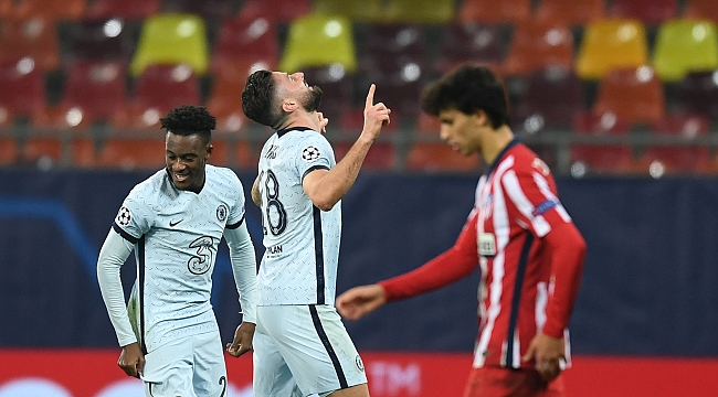 Chelsea, tek golle avantajı kaptı