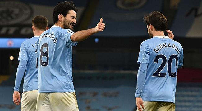 Dev maçta kazanan Man.City!