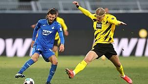 Dortmund 1 puanı Haaland ile kurtardı!