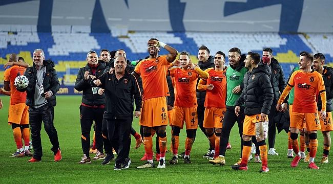 Galatasaray'ın Kadıköy'deki serisi