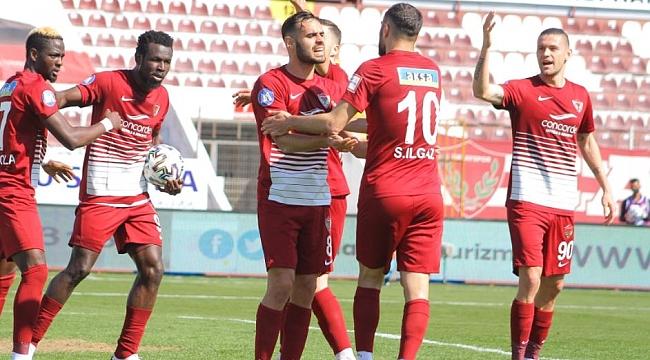 Hatayspor'dan farklı tarife! 5 gollü maç...