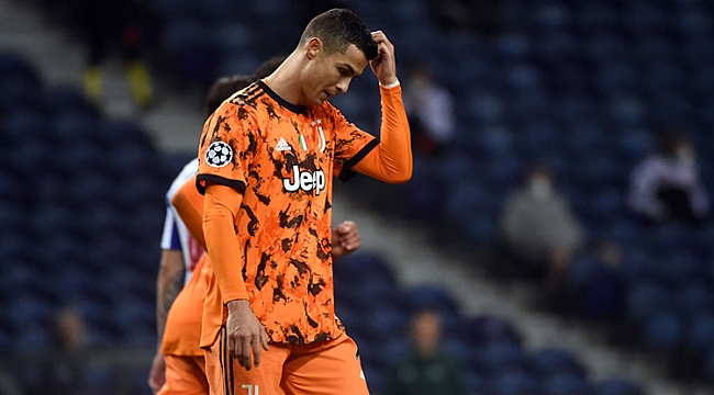 Juventus'a Portekiz'de 2 gollü şok!