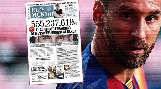Lionel Messi'nin maaşı ne kadar?