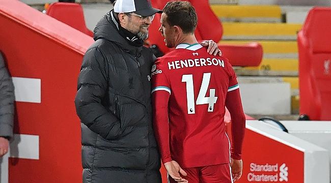Liverpool'da bir sakatlık daha! Henderson
