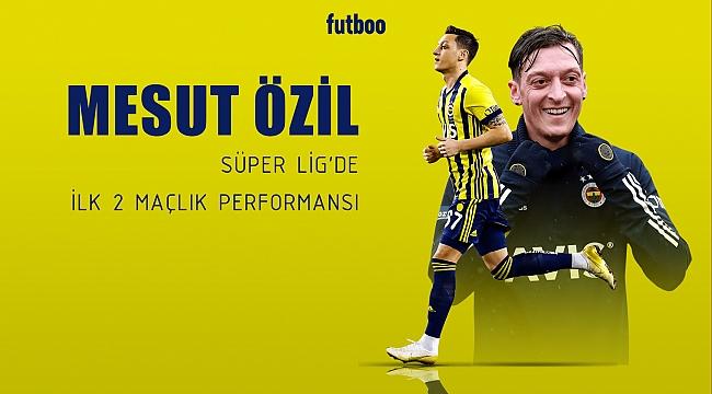 Mesut Özil'in Süper Lig performansı