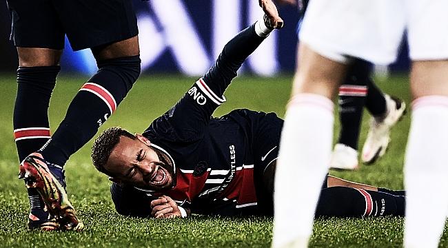 Paris SG'de Neymar'dan kötü haber