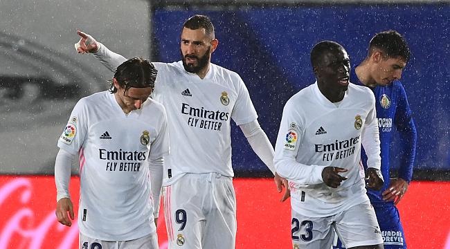 Real Madrid iki golle kazandı