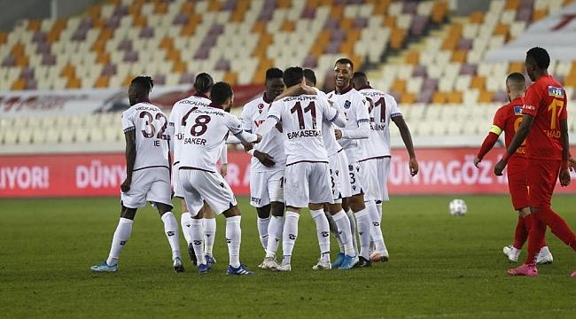 Trabzonspor kayıpsız devam ediyor