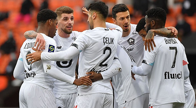 Yusuf asist yaptı, Lille 4 golle zirvede rahatladı!