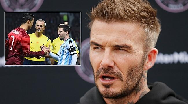 Beckham'ın hayali Messi ve Ronaldo