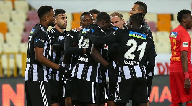 Beşiktaş'ı Atiba'nın golü taşıdı