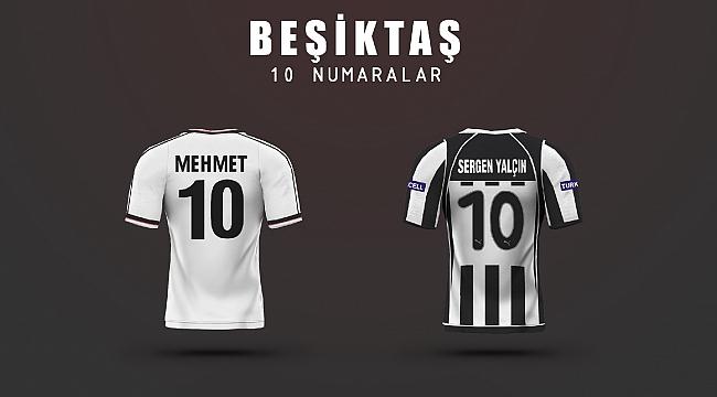 Beşiktaş'ın en iyi '10' numaraları