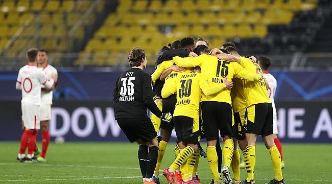 Dortmund çeyrek final biletini kaptı