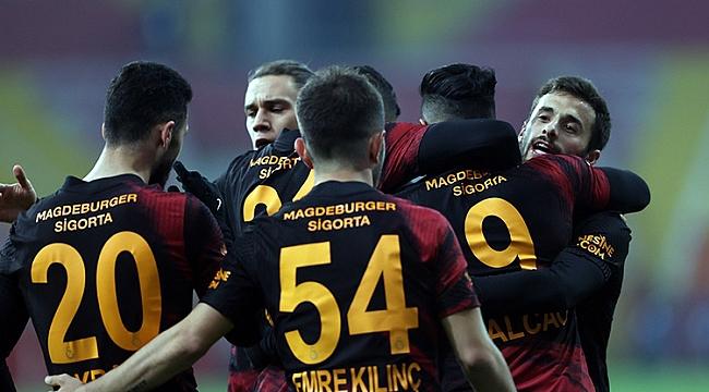 Galatasaray, Kayseri'de hata yapmadı