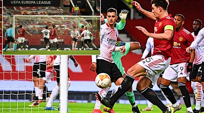 Gecenin karesi; bu gol nasıl kaçar?