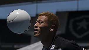 Keisuke Honda'nın yeni adresi Azerbaycan oldu!