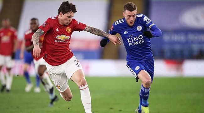 Leicester güle oynaya turladı! Manchester'a 3 gol...