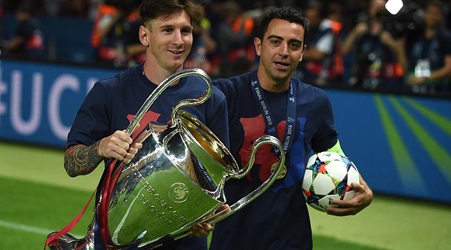 Lionel Messi bir kez daha tarihe geçti! Xavi'yi yakaladı