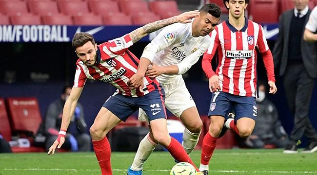 Madrid derbisinde kazanan yok! Suarez ve Benzema...
