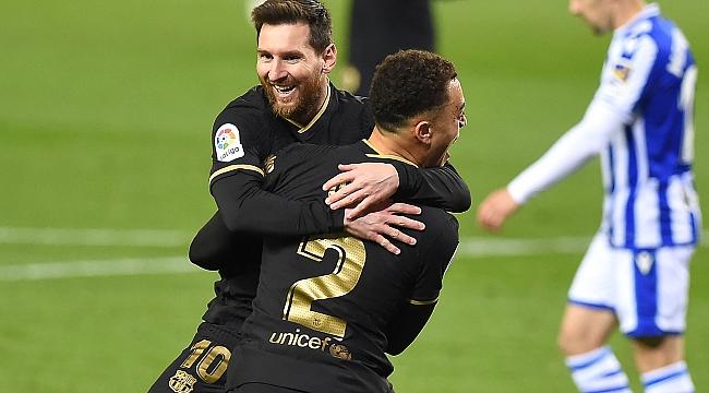 Messi, Xavi'yi solladı! 1 numara