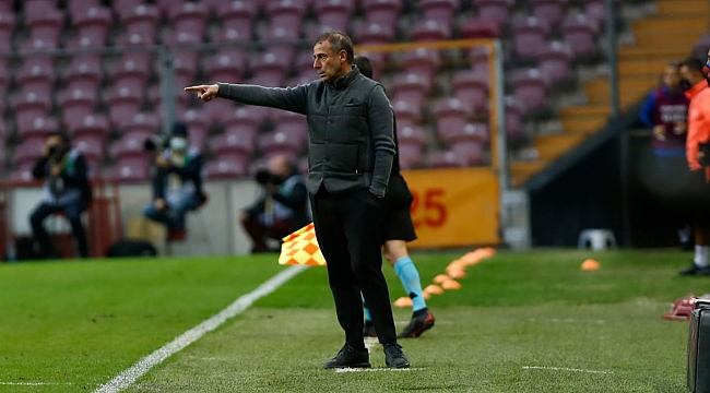 Abdullah Avcı'dan maç sonu tepki