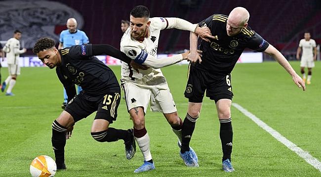 Ajax attı, Roma geri döndü! Avantaj...