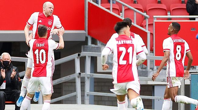 Ajax yine Hollanda'nın en büyüğü!