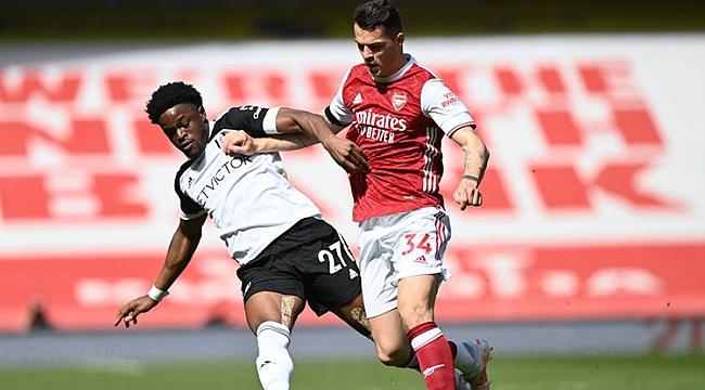 Arsenal puanı 90+8'de aldı, Fulham'ın işi zora girdi