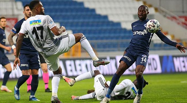 Beşiktaş fırsat tepti: 1-0