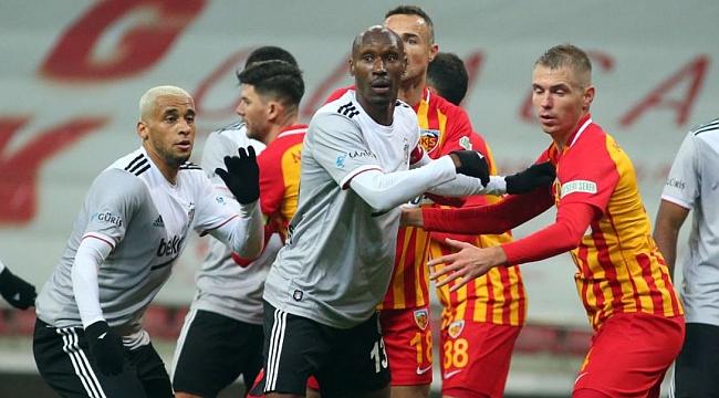 Beşiktaş - Kayserispor muhtemel 11'ler