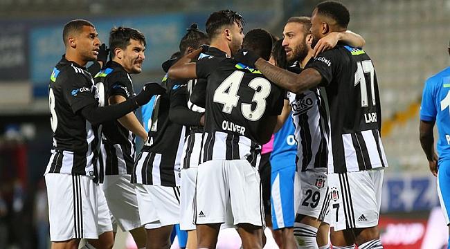 Beşiktaş kritik virajı 3 puanla döndü