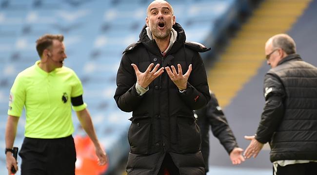 Bielsa'dan Guardiola'ya büyük şok! 10 kişiyle...